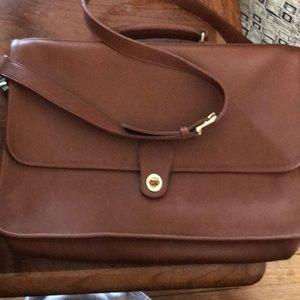 NWT Coach crossbody briefcase